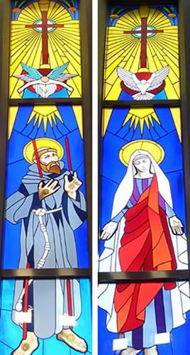 カトリック亀有教会ステンドグラス
